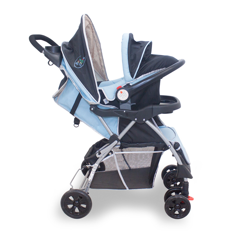 travel system smart azul 3